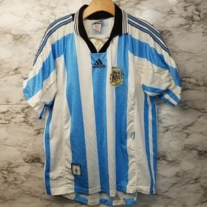 Retro Vtg Adidas Argentina 90s Team World Cup XL